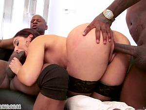 Sheena Ryder - Black guys love big white bubble Butt