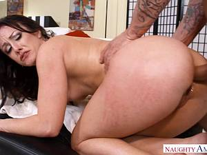 Housewife Jennifer takes her husband's cock in the ass